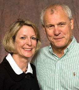 Pastor Sam Wolff and wife Cindy